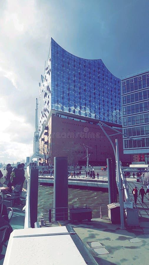 Elbphilharmonie στοκ εικόνα με δικαίωμα ελεύθερης χρήσης
