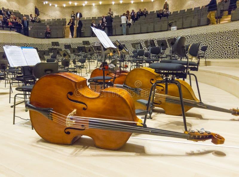 Elbphilharmonie filharmonia fotografia stock