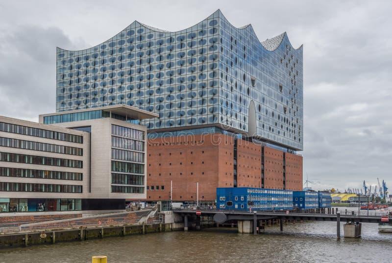 Elbphilharmonie filharmonia, Hamburg fotografia stock