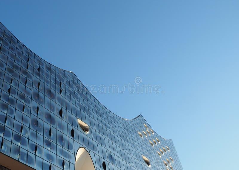 Elbphilharmonie filharmonia w Hamburg zdjęcia royalty free