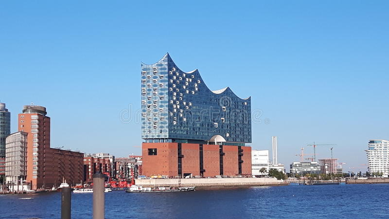 Elbphilharmonie Hamburg stock photos