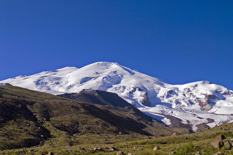 Elbrus royalty-vrije stock foto