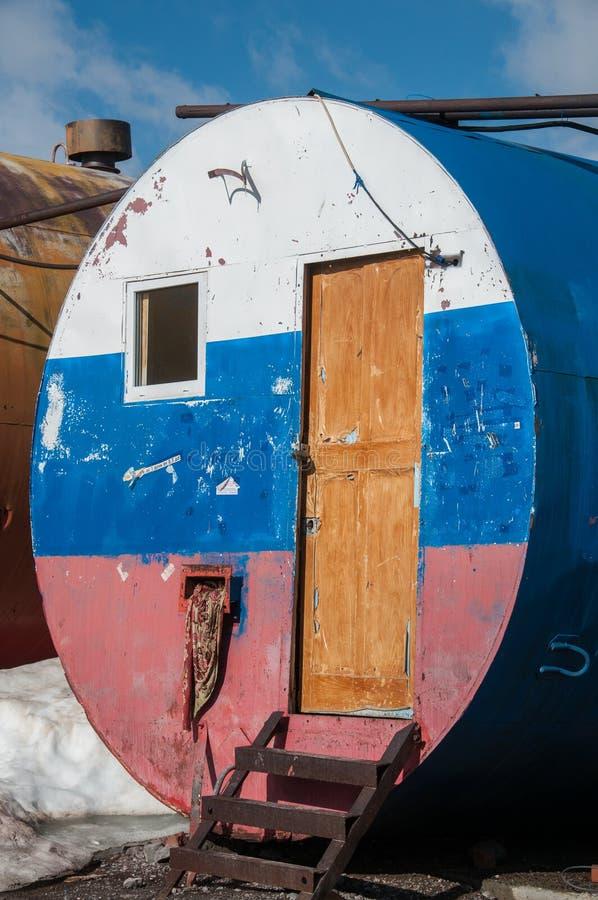 Elbrus Barrel in sun royalty free stock image