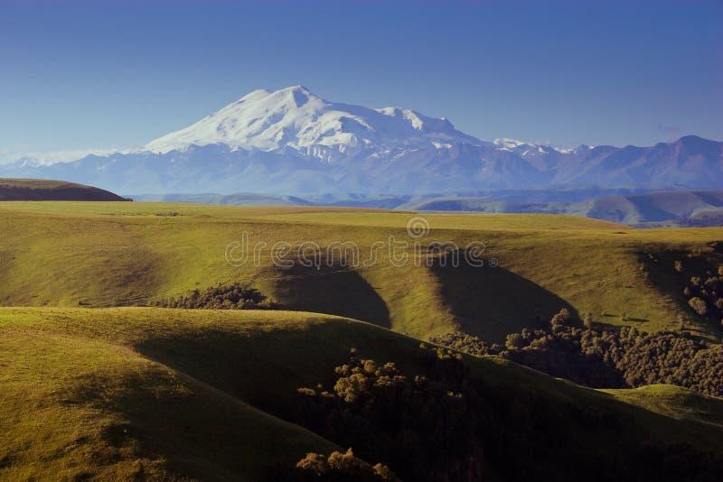 Elbrus Caucasus mountains stock photos