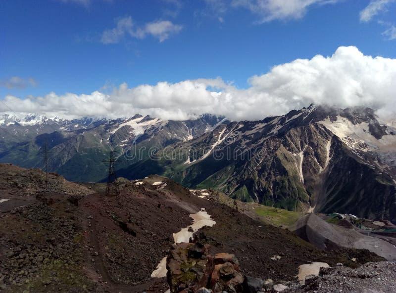 Elbrus Volcano. royalty free stock photography
