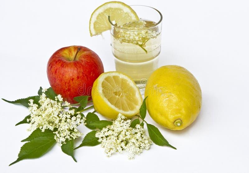 Elderberry lemonade stock image