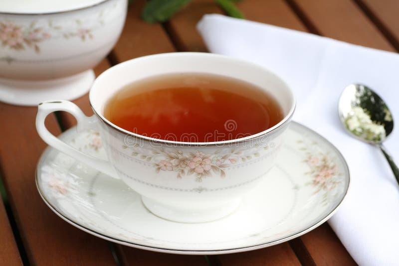 Elderflower-Tee lizenzfreies stockfoto