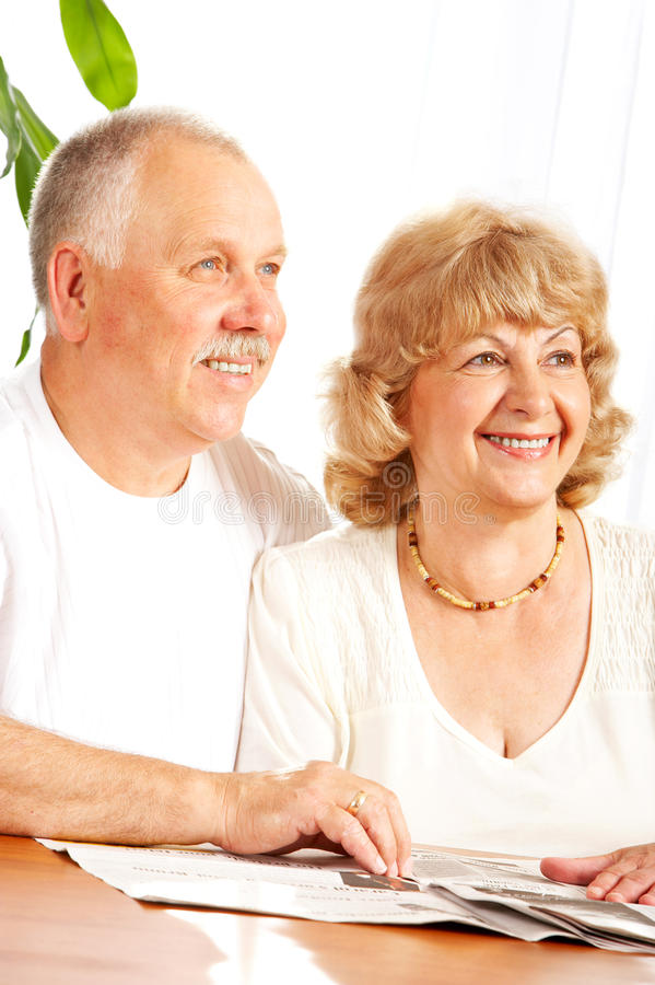 Download Elderly couple stock photo. Image of adult, happy, elderly - 11298454
