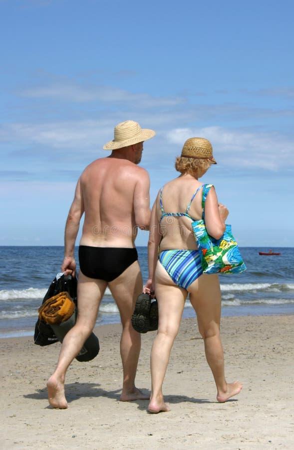 Elderly Couple Editorial Stock Image