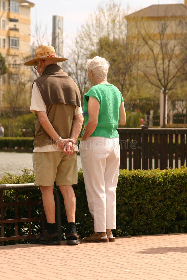 Download Elderly Couple Royalty Free Stock Images - Image: 715039