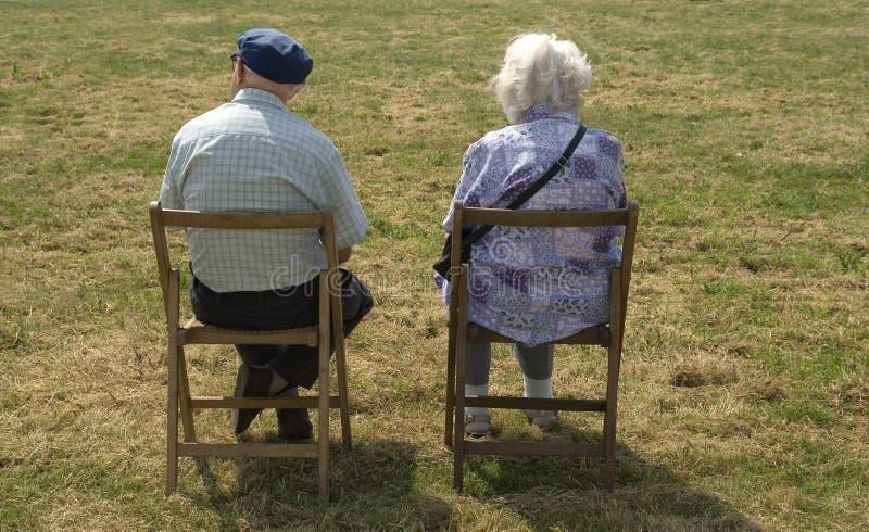 Download Elderly couple stock image. Image of gentle, grass, pensioner - 886507
