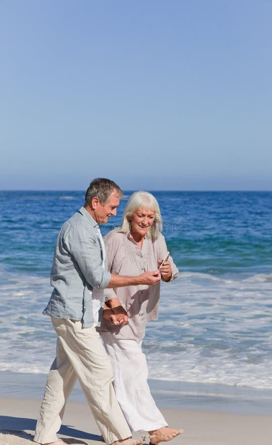 Download Elderly Couple Walking Stock Photos - Image: 18495383