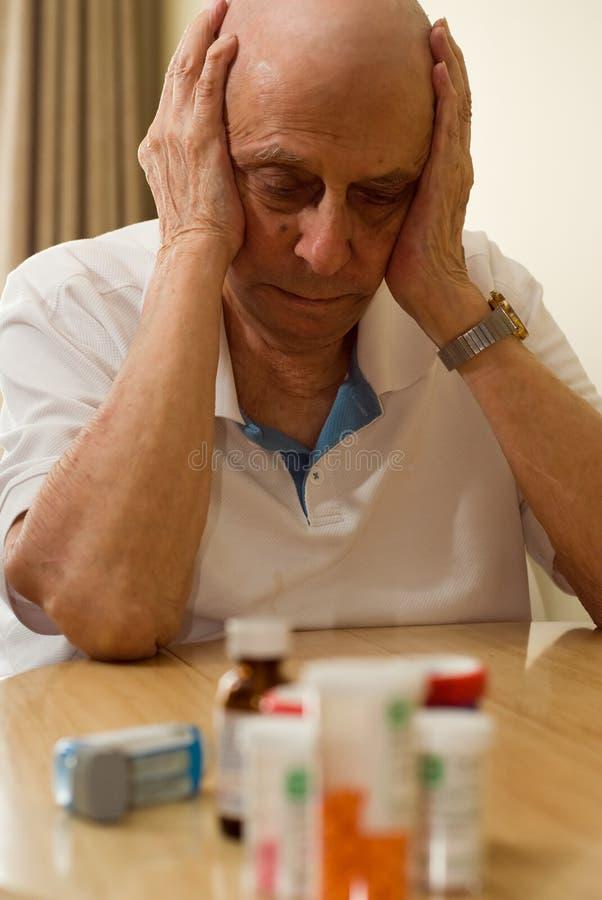 Elderly Drugs royalty free stock images