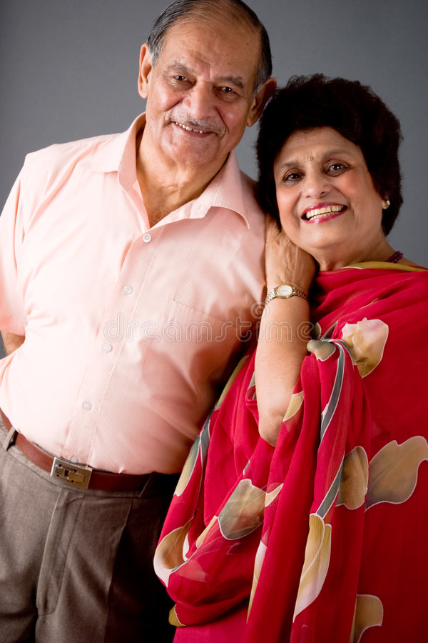 Download Elderly East Indian Couple stock image. Image of love - 6218777