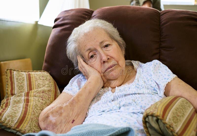 elderly eyes focus woman στοκ φωτογραφίες με δικαίωμα ελεύθερης χρήσης