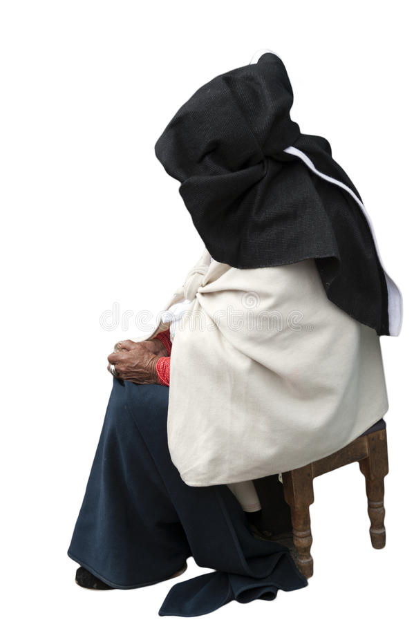 Download Elderly Indigenous Woman In Traditional Dress Stock Photo - Image: 24113766