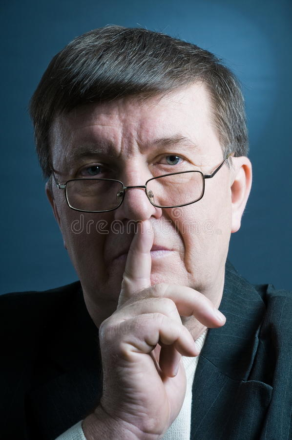 Download The elderly man. stock image. Image of senior, corpulent - 18280885