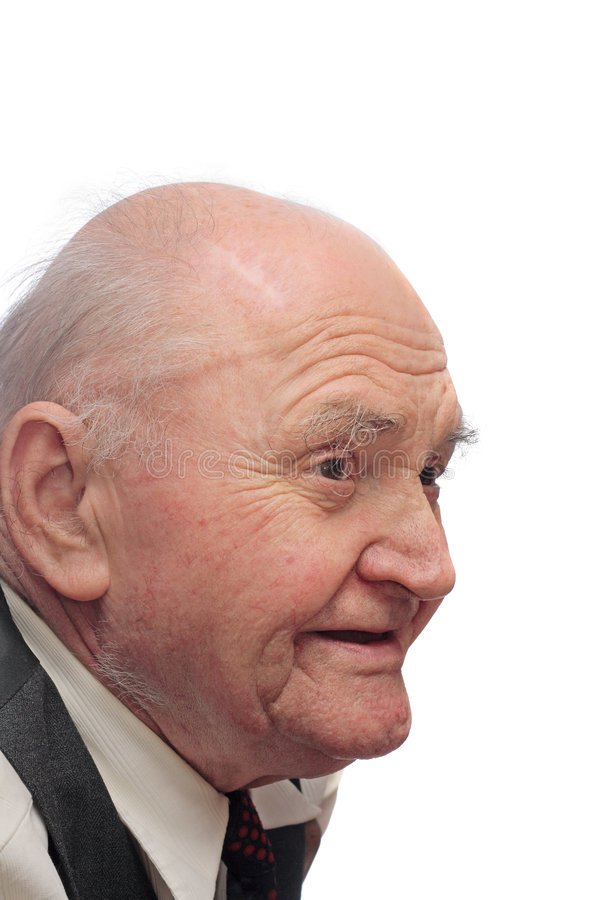 Elderly Man Royalty Free Stock Images