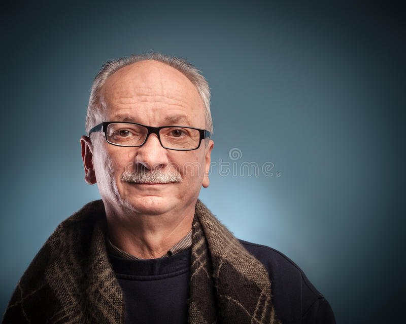 Download Elderly man stock image. Image of copyspace, senior, hands - 27149941