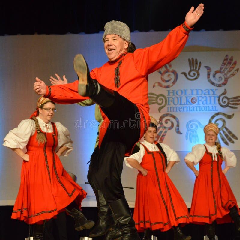 Free Elderly Man Doing Russian Dance Stock Photo - 172933470
