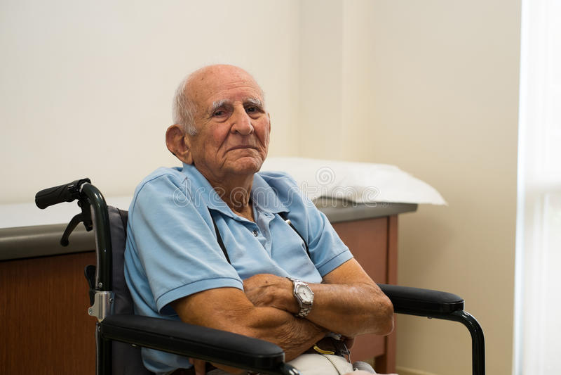 Download Elderly Man stock image. Image of portrait, expression - 31354597