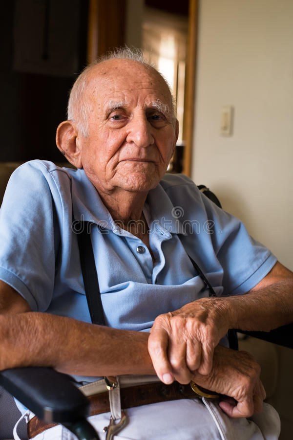 Download Elderly Man stock image. Image of lifestyle, headed, chair - 31354567