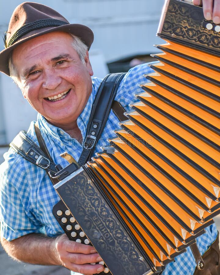 Free Elderly Man Playing The Accordion Royalty Free Stock Photo - 172035435