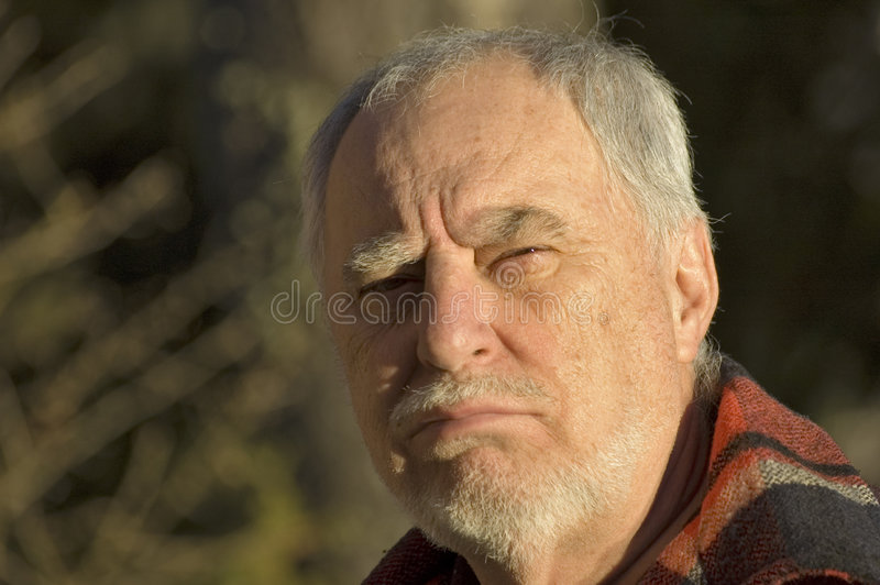 Download Elderly man portrait 3 stock image. Image of gesture, personality - 360915