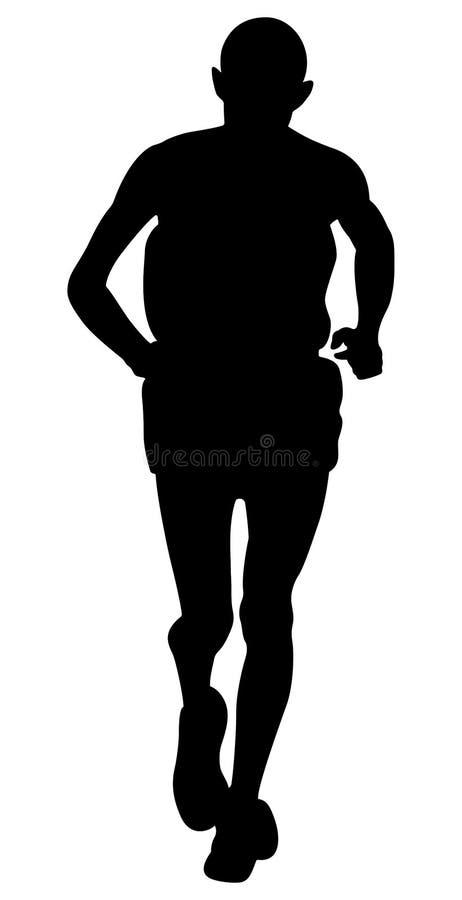 Free Elderly Man Runner Stock Image - 98440371