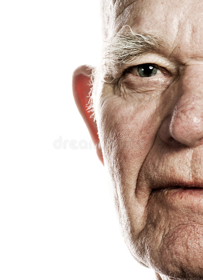 Free Elderly Man S Face Stock Photography - 4746222