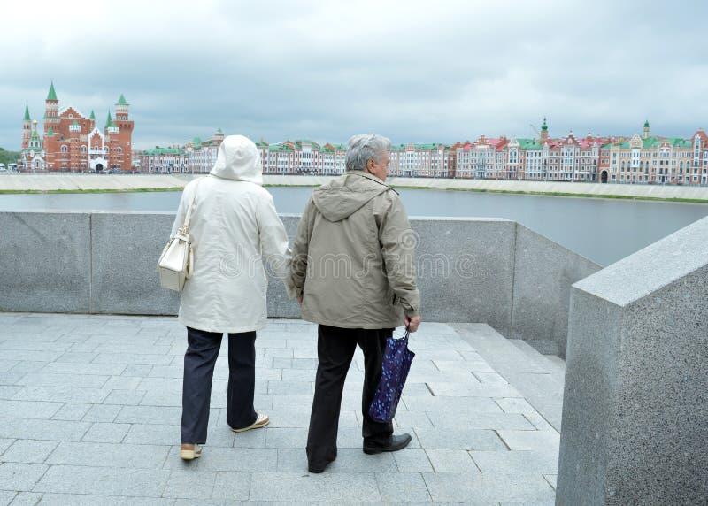 Couple Woman People Happy Love Senior Old Smiling Elderly
