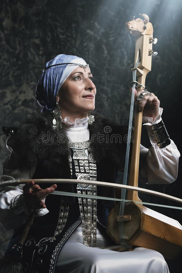 Ancient musical instrument stock images