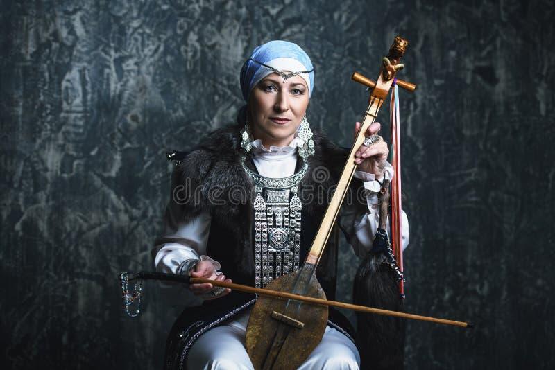 Female national costume stock photography