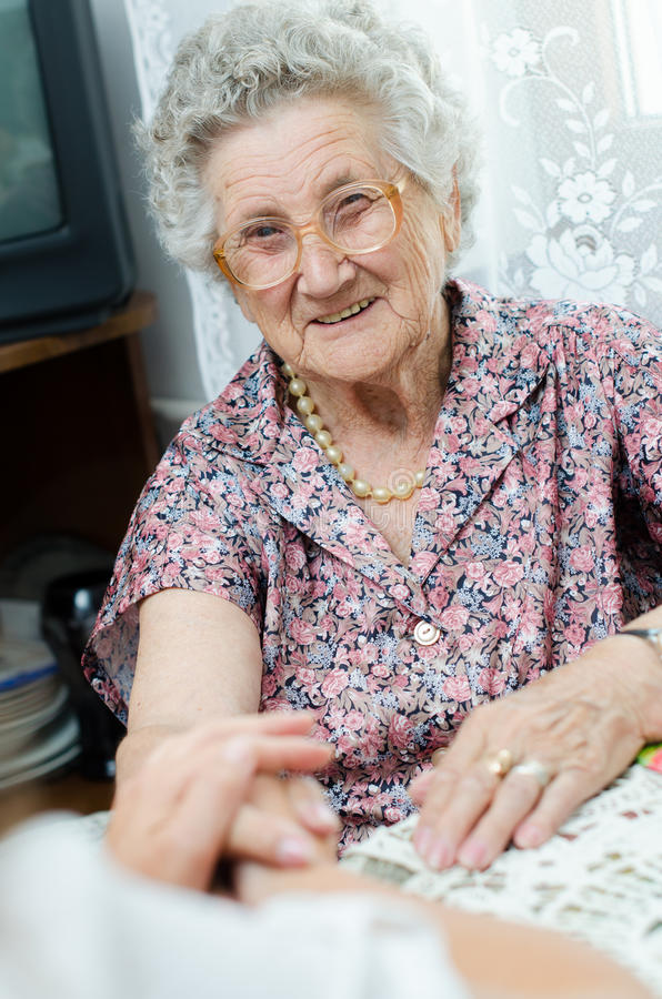 Free Elderly Pair Of Hands Stock Images - 36527614