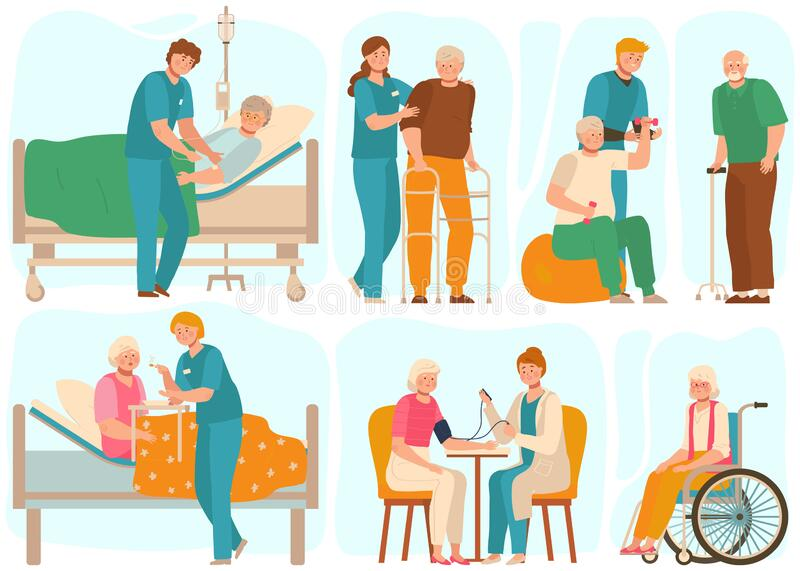 Nursing Home Staff Stock Illustrations 195 Nursing Home Staff Stock Illustrations Vectors Clipart Dreamstime