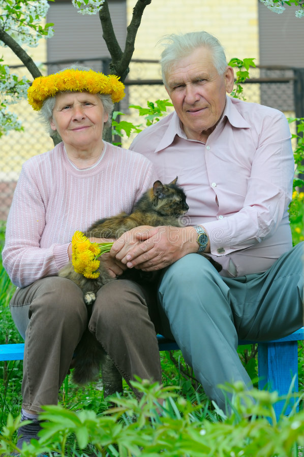 elderly peoples pretty two στοκ φωτογραφία με δικαίωμα ελεύθερης χρήσης