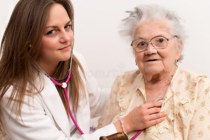 Elderly person stock photo
