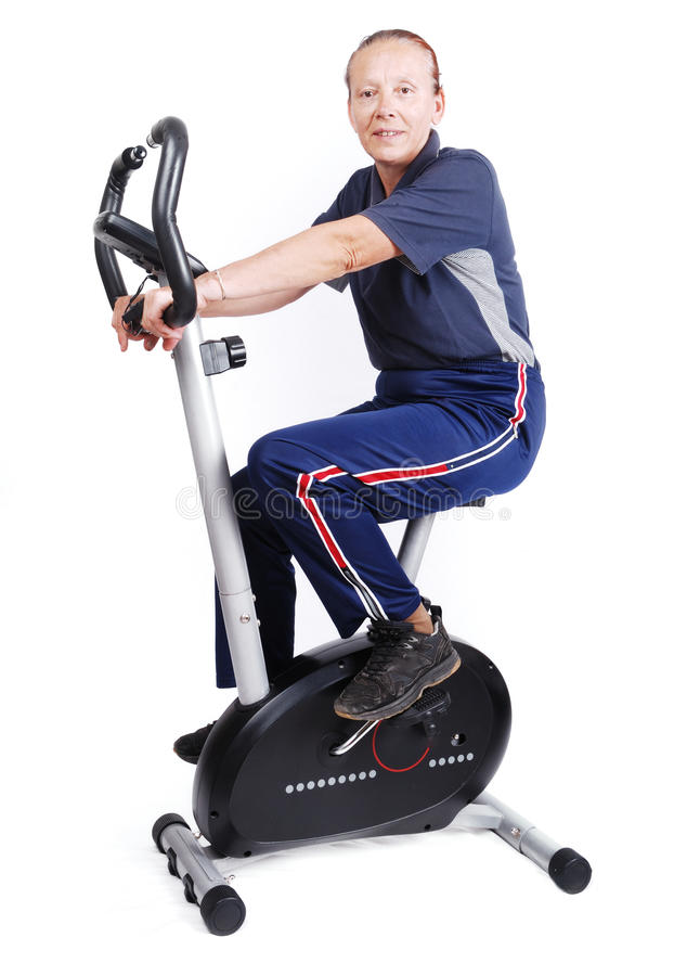 Elderly , sport for health royalty free stock photography