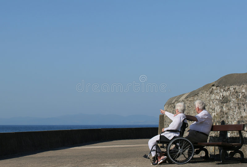 Download Elderly Twosome stock image. Image of elderly, couple - 2312523