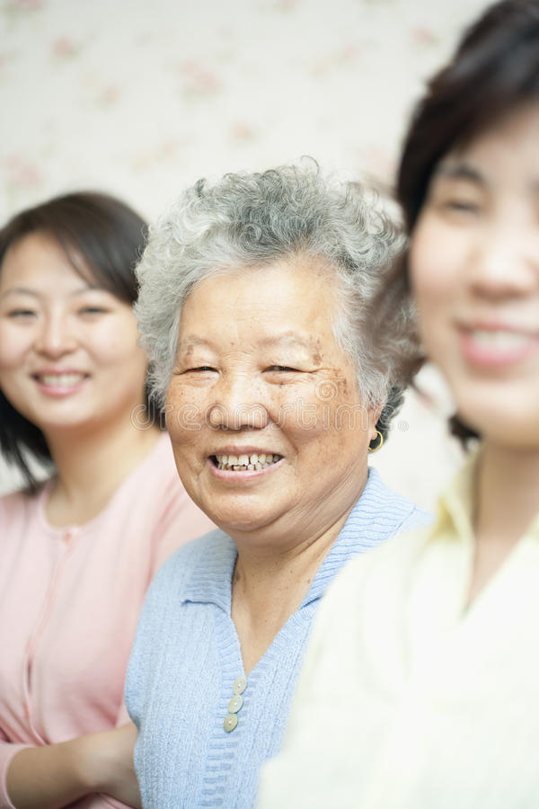 Download Elderly Woman stock image. Image of short, people, gray - 12277865