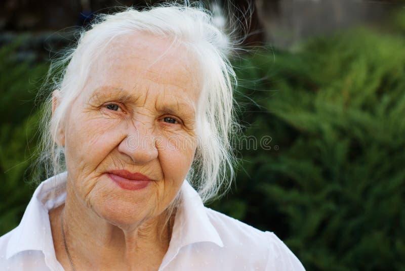 Download Elderly woman stock image. Image of mature, portrait, joyful - 9350103