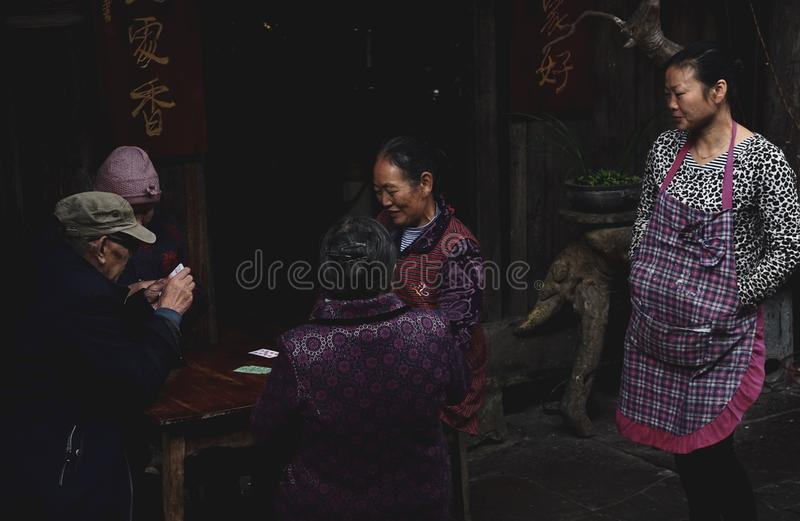 People in china royalty free stock images