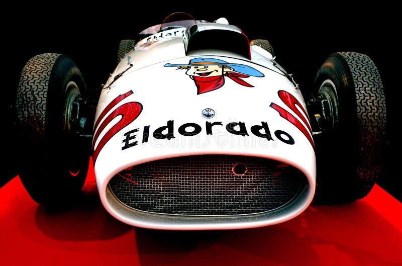 Eldorado ` Eiscreme ` Maserati Tipo 420 M 58 lizenzfreies stockfoto
