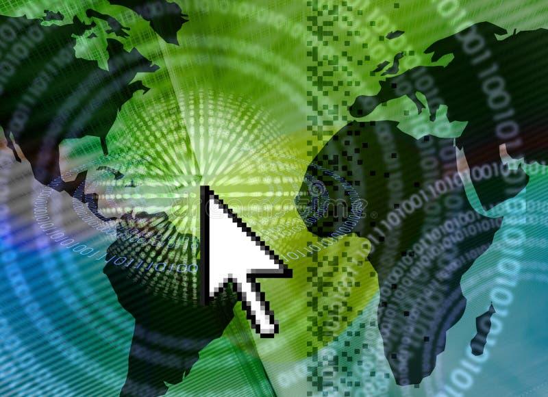 ELE mundo da tecnologia ilustração do vetor