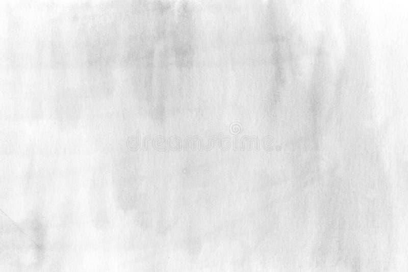 Ele pintado decorativo del diseño del descenso de la textura del papel de la acuarela gris fotografía de archivo