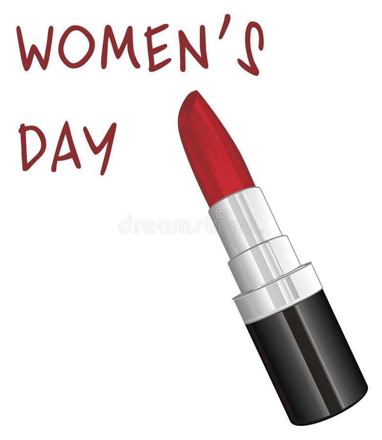 Ele ` s um o dia do ` s das mulheres ilustração royalty free