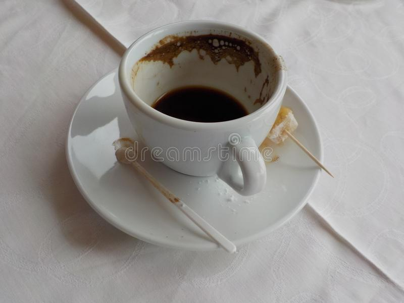 Ele tempo de s para o cofee imagem de stock royalty free