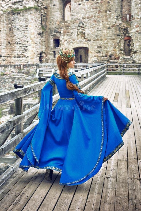 Eleanor bonita de Aquitaine, duquesa e rainha de Inglaterra e de França na Idade Média alta imagem de stock