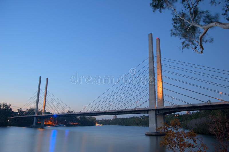 Eleanor Schonell bridge royalty free stock image