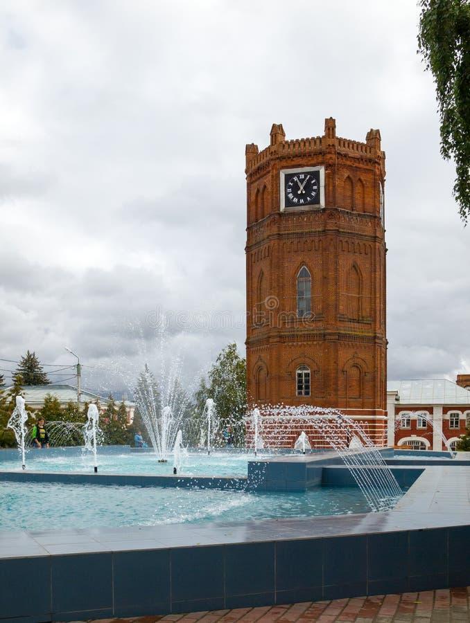 Elec Vecchia torretta di acqua I carillon di Elec sono immagine stock